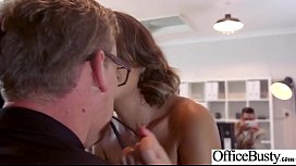 Sex Scene In Office With Slut Hot Busty Girl Cara SaintGermain video
