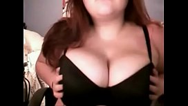 Latina Huge Breasts Flashing on CAM - LIVE NOW // webcamhooker.us
