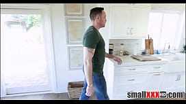 Tiny Young Petite Blonde Teen Step Daughter Fucked By Step Dad All Over The House