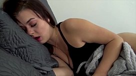 Brother and Sister Share a Bed - POV, Brunette, Siblings
