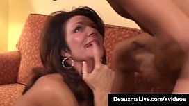 Hot Horny Cougar Deauxma Bangs Newbie Big Dick Keiran Lee!