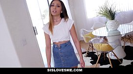 DadCrush Hot StepDaughter Spanked Fucked