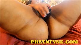 PHATNFYNE.COM CHYNA RED DILDO PLAY