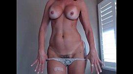 Hottest Milf EverJessRyan flashing pussy on live webcam
