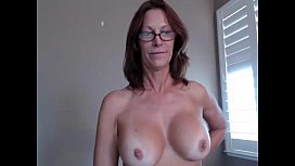 Hottest Milf EverJessRyan flashing pussy on live webcam