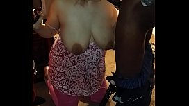 sexy wife sucks 2 bbc