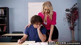Brazzers - Big Tits at School - Teacher Takes Advantage scene starring Katie Morgan and Robby Echo