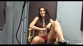 Teen giving good head Giselle Leon