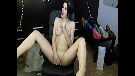 Bigboobs Jodie fingers her shaven pussy on cam Bunniesoflincolncom