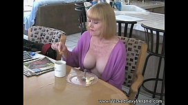 Amateur Grandma Punished By Stepson