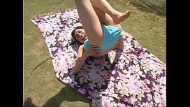 Bikini Girl Exercise