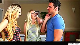 Rily Reid &amp_ Natalia Starr Threesome Sharing Husband