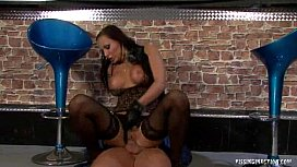 Nataly Barbora in Pissing action www.xandfun.com