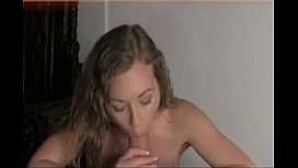 Hot Blonde First Time Blowjob on Camera - HotPOVCams.com