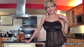 Unfaithful uk milf gill ellis displays her massive naturals