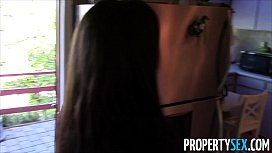 Prope ex Hot black real estate agent tricked into fucking