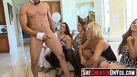 05 Party girls fucking at club with strippers 19