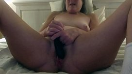 Milf Stepmom Fantasizes about Stepsons Young Cock Fucks Her Dildo Mature Then Fucks Daddy Big Cumshot