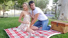 PASSION-HD Picnic Date Turns Into Fuck With Blonde Emma Hix