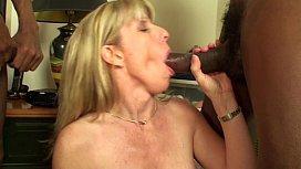 Carol Fucks Two Big Beautiful Black Cocks
