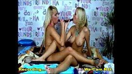 Lesbian girls play toys together live webcam