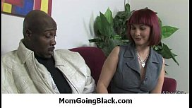 MILF gets an interracial penetration 1