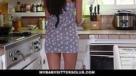 MyBabySittersClub - Hot BabySitter (Olivia Lua) Becomes Fulltime Sexsitter