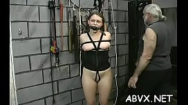 In nature'_s garb cuties love the extreme bondage porn on cam