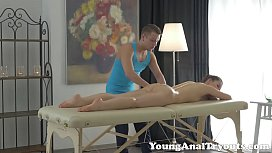 Young Anal Tryouts Olya Takes a Hard Anal Pounding