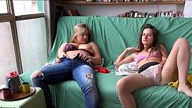 ukrainian girls Marina and curvy Arina