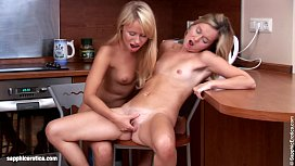 23065103: Lovely Lappers from Sapphic Erotica Janet and Karin lesbian lovemaking in the ki