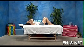 Gorgeous sweetheart gets much greater quantity than just a massage!