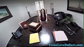 Amateur teen railed pov