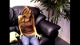Teen Topanga likes to talk to you while you watch her touch her spot
