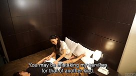 preview - Japanese hotel massage gone wrong Subtitled in HD