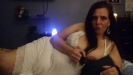 KevLuvsNat JOI Amateur wife gives a homemade JOI while husband films. Her detailed instruction makes him cum
