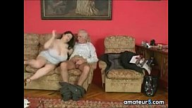 Grandpa Wants This Large Busty Woman