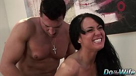 Sexy Wife Takes It Up the Ass While Hubby Looks On