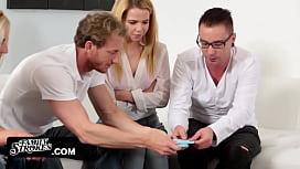 FamilyStrokes - Family Game Night Orgy (Alina West)