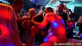 Whore toyed at glam orgy