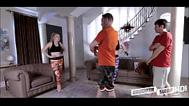 Two Horny Daughters Kinsley Anne And Zoe Parker Swap Fuck Each Others Dad'_s After A Workout