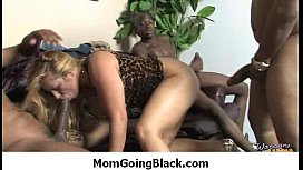 Big fat black monster cock in my moms tight pussy 7