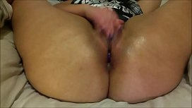 Florence Dixon using a wevibe in her juicy pussy and ass and rubbing one out