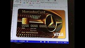 Mercedes KreditkarteMP
