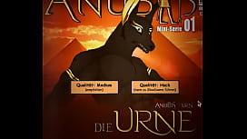FURRY Anubis masturbation