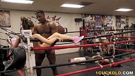 Cuckold Sessions - Joseline Kelly Interracial Sex