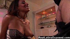 RealLatinaExposed - Torrid Latina loves to drain a big hard cock