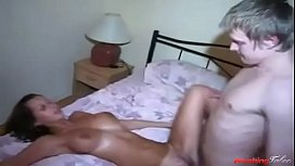 Elder sister riding & taking little brothers virginity- Who wouldn't wanna fuck a sis likethat
