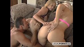 Hot threesome with big-breasted blondes GB-3-01