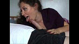 Beautiful Brunette Mature MILF Gives Handjob: Free Porn 53